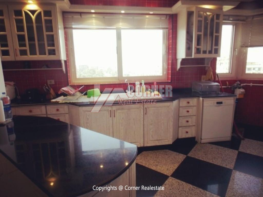 Penthouse With Swimming Pool For Rent In Maadi Sarayat,Modern Furnished,Penthouse NO #27