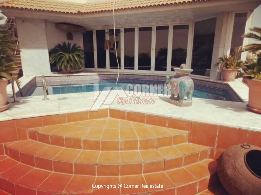 Penthouse With Swimming Pool For Rent In Maadi Sarayat,Modern Furnished,Penthouse NO #3