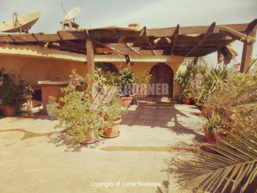 Penthouse With Swimming Pool For Rent In Maadi Sarayat,Modern Furnished,Penthouse NO #8