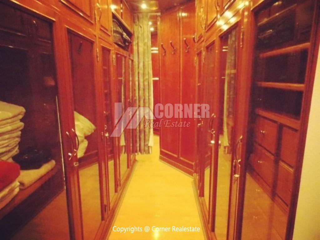 Penthouse With Swimming Pool For Rent In Maadi Sarayat,Modern Furnished,Penthouse NO #13