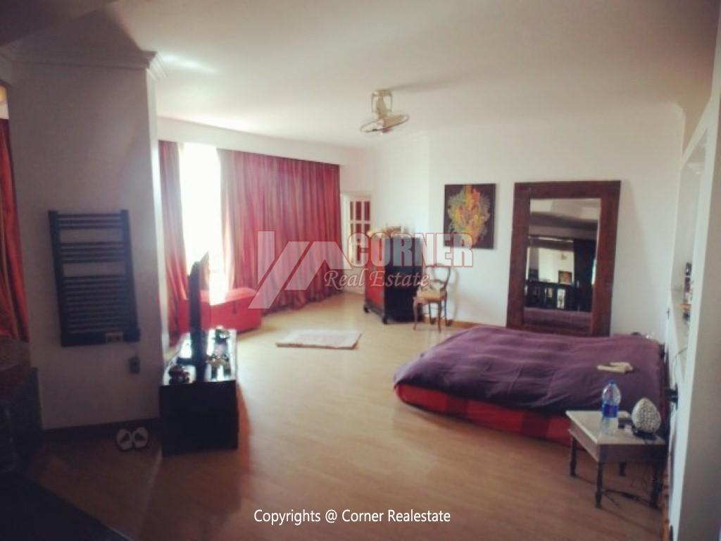 Penthouse With Swimming Pool For Rent In Maadi Sarayat,Modern Furnished,Penthouse NO #15