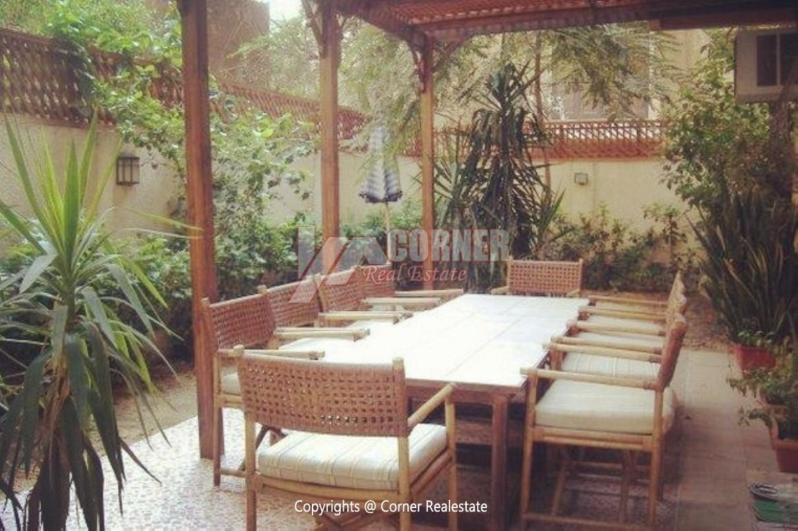 Ground Floor With Private Garden For Rent in Old Maadi