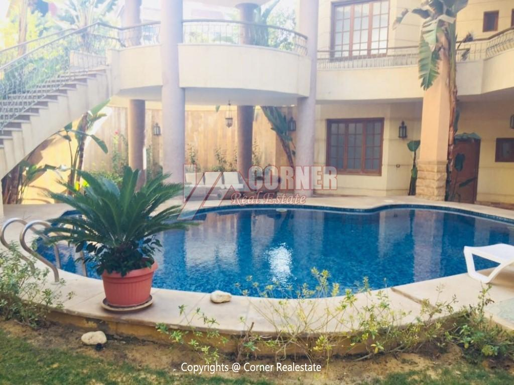 Villa With Swimming Pool For Rent In West Golf,Furnished,Villa NO #1