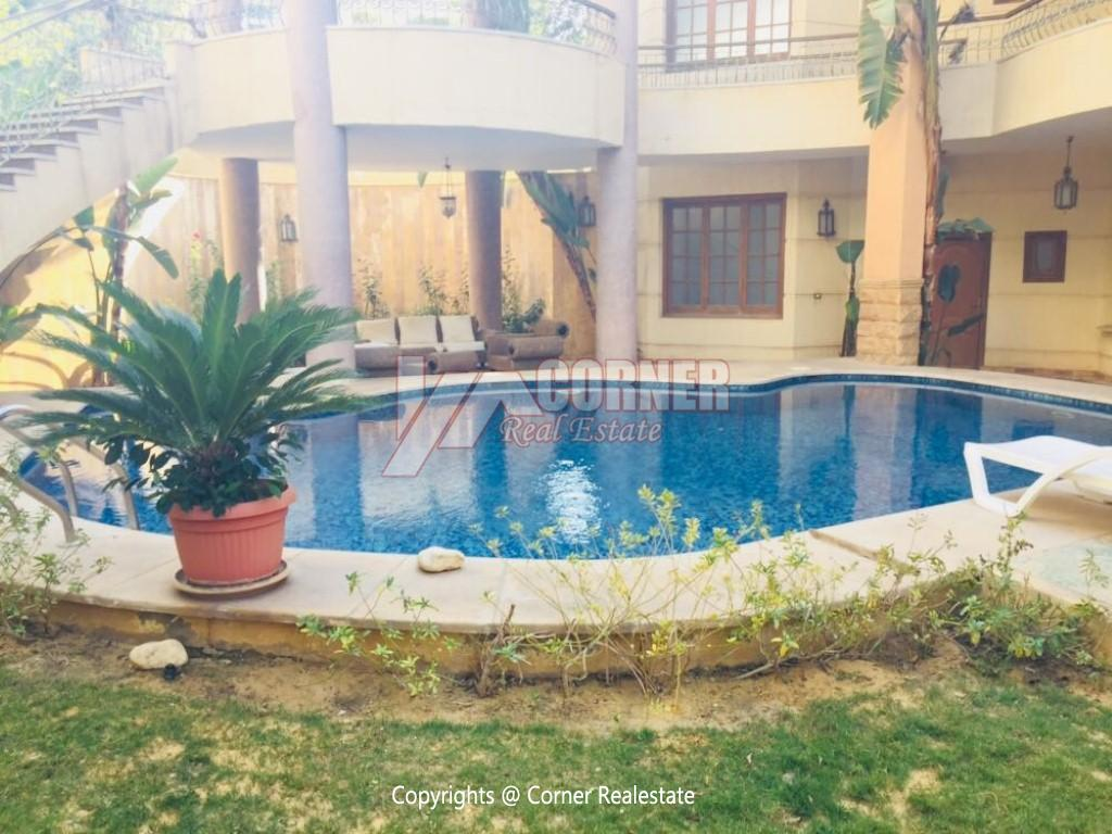 Villa With Swimming Pool For Rent In West Golf,Furnished,Villa NO #2