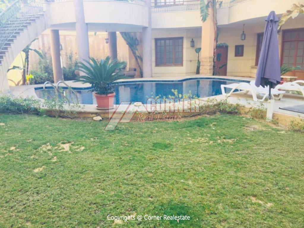 Villa With Swimming Pool For Rent In West Golf,Furnished,Villa NO #3