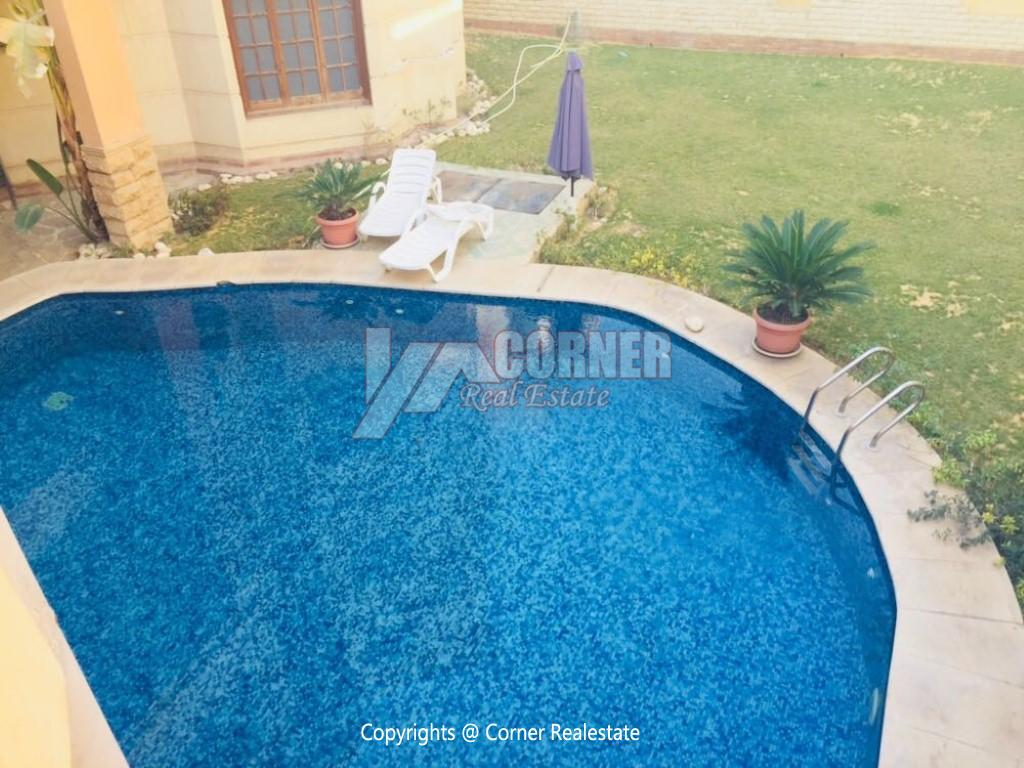 Villa With Swimming Pool For Rent In West Golf,Furnished,Villa NO #4