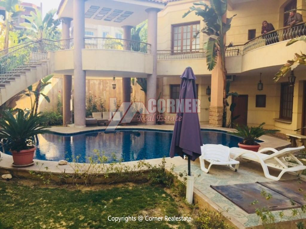 Villa With Swimming Pool For Rent In West Golf,Furnished,Villa NO #5