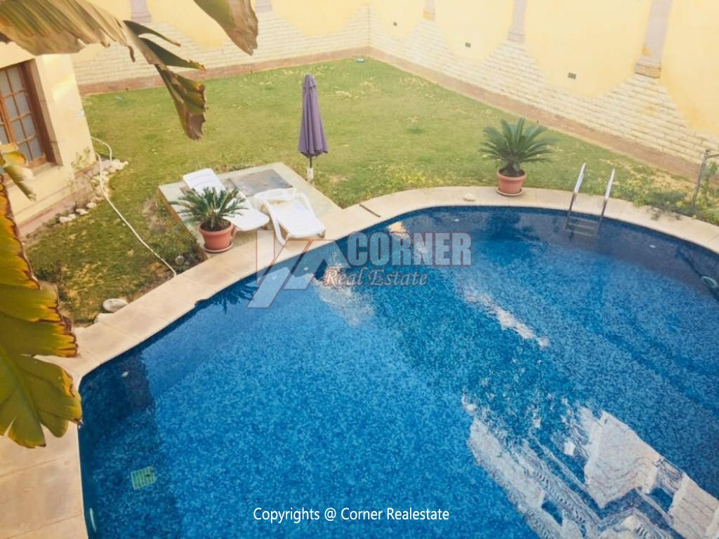 Villa With Swimming Pool For Rent In West Golf,Furnished,Villa NO #7