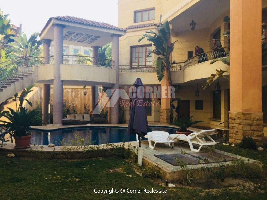 Villa With Swimming Pool For Rent In West Golf,Furnished,Villa NO #8