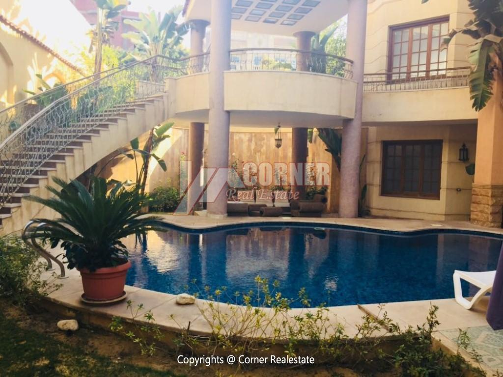 Villa With Swimming Pool For Rent In West Golf,Furnished,Villa NO #9