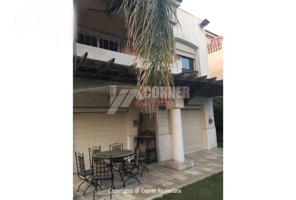 Villa With Swimming Pool For Rent In Katameya Residence,Modern Furnished,Villa NO #7
