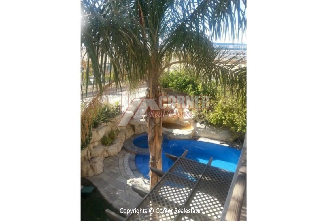 Villa With Swimming Pool For Rent In Katameya Residence,Modern Furnished,Villa NO #4
