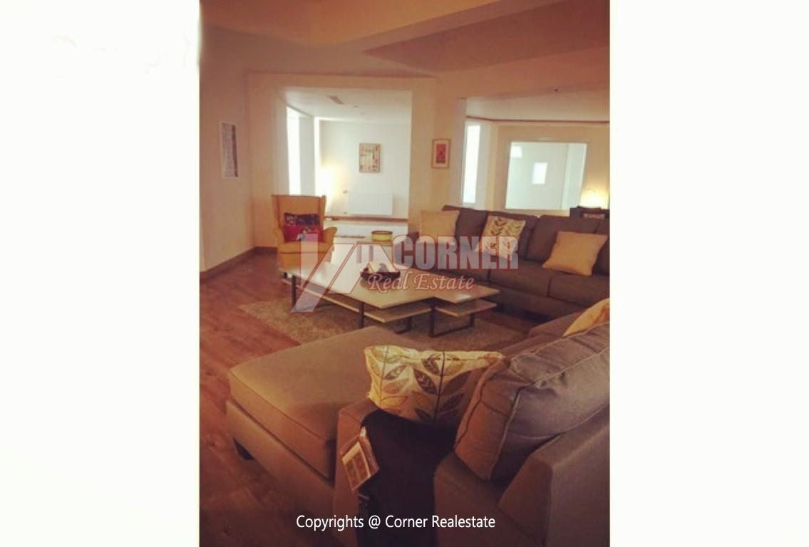 Ground Floor For Rent in Katameya Heights,Modern Furnished,Ground Floor NO #12
