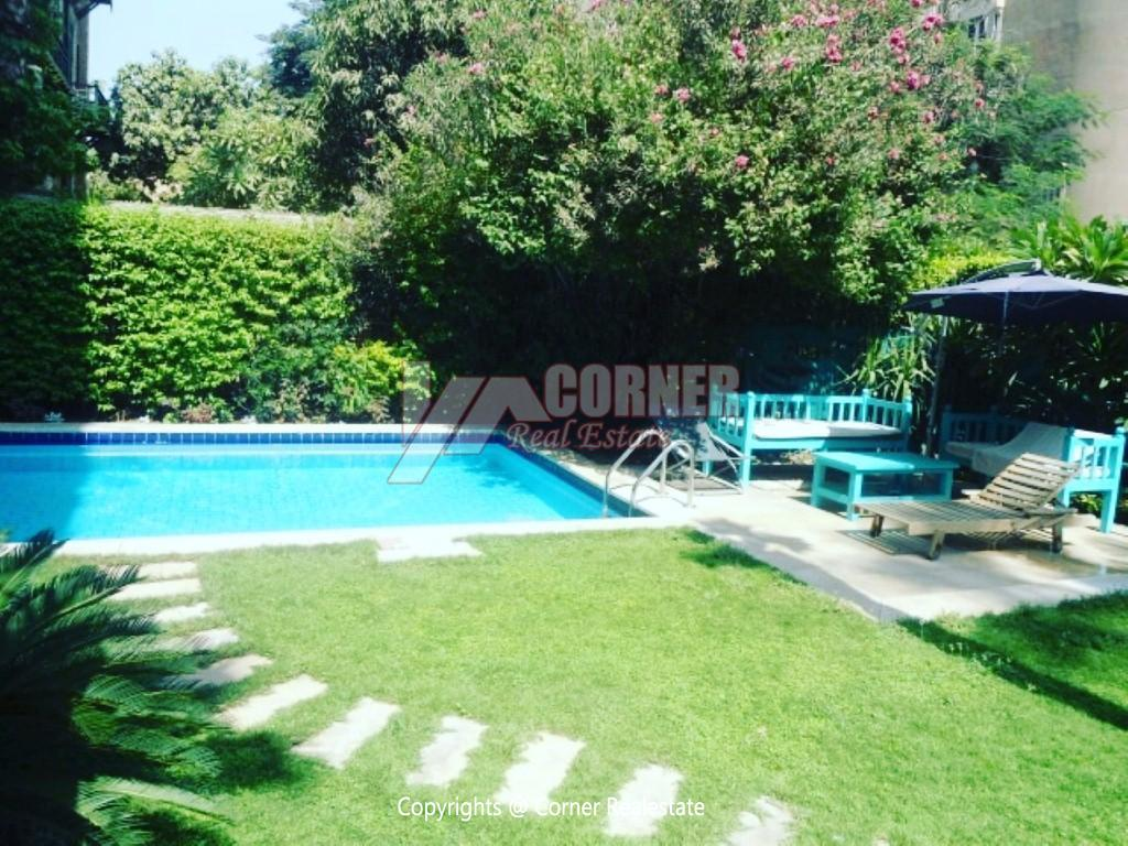 Apartment With Pool For Rent In Maadi