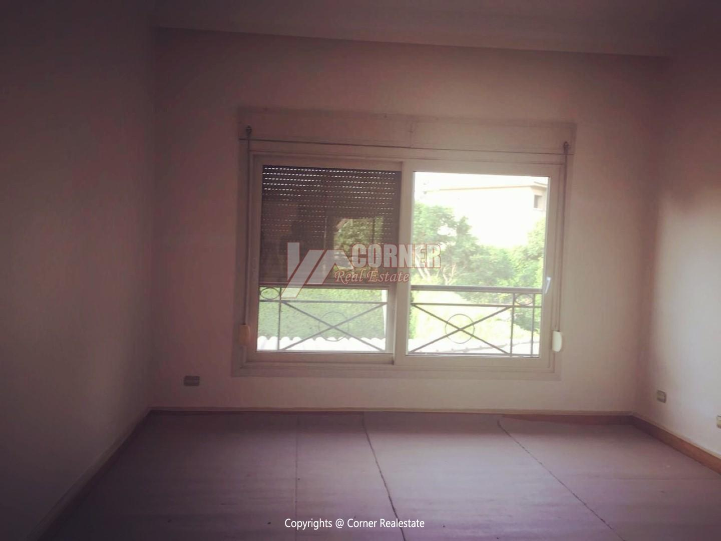 Ground Floor For Rent In Katameya Heights,Semi furnished,Ground Floor NO #12