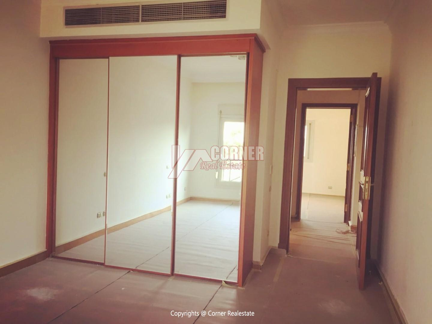 Ground Floor For Rent In Katameya Heights,Semi furnished,Ground Floor NO #11