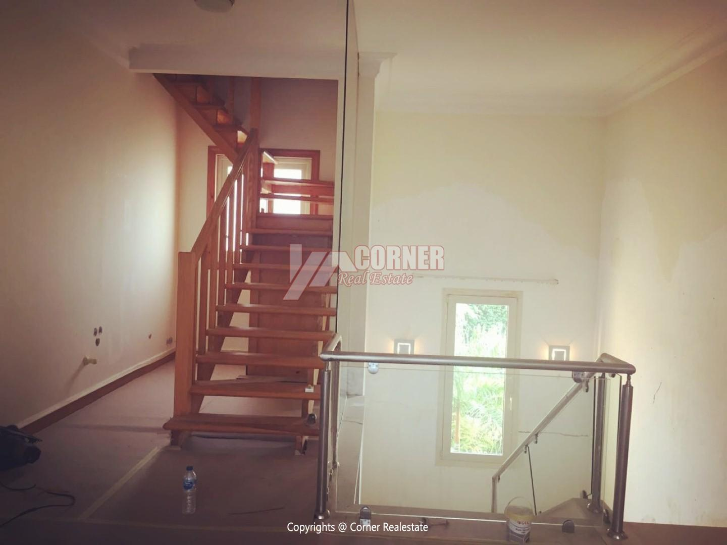 Ground Floor With Pool For Rent In Katameya Heights,Semi furnished,Ground Floor NO #7