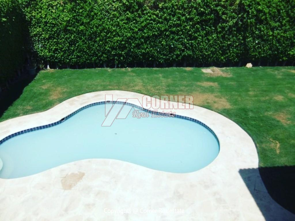 Villa With Swimming Pool For Rent In Katameya Heights,Semi furnished,Villa NO #10