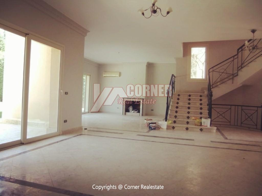 Villa With Swimming Pool For Rent In Katameya Heights,Semi furnished,Villa NO #2