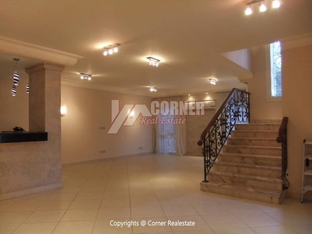 Villa With Swimming Pool For Rent In Katameya Heights,Semi furnished,Villa NO #19