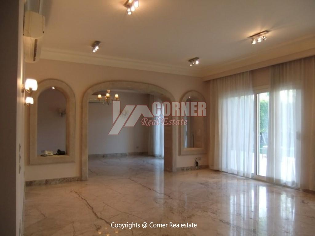 Villa With Swimming Pool For Rent In Katameya Heights,Semi furnished,Villa NO #23