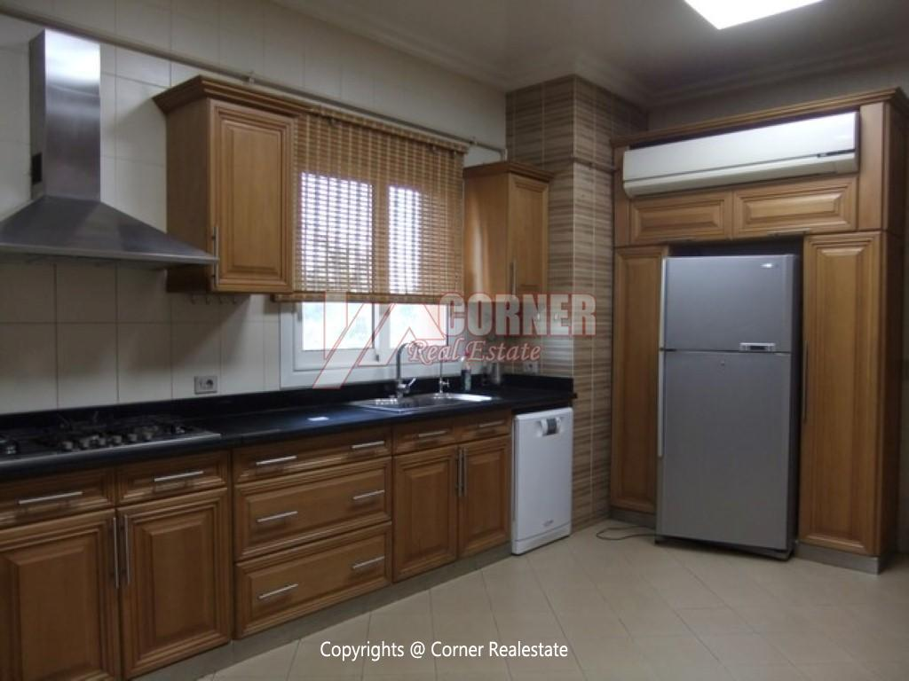 Villa With Swimming Pool For Rent In Katameya Heights,Semi furnished,Villa NO #25