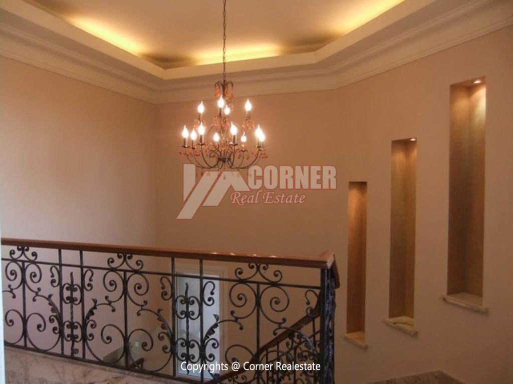 Villa With Swimming Pool For Rent In Katameya Heights,Semi furnished,Villa NO #7