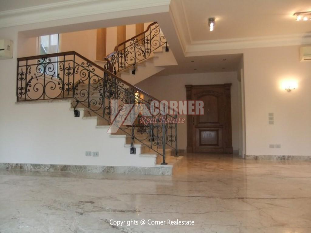 Villa With Swimming Pool For Rent In Katameya Heights,Semi furnished,Villa NO #12