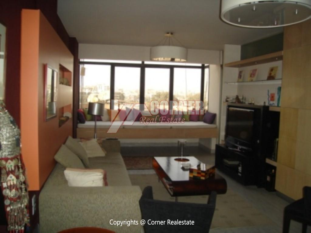 Penthouse For Rent In Maadi ,Modern Furnished,Penthouse NO #9
