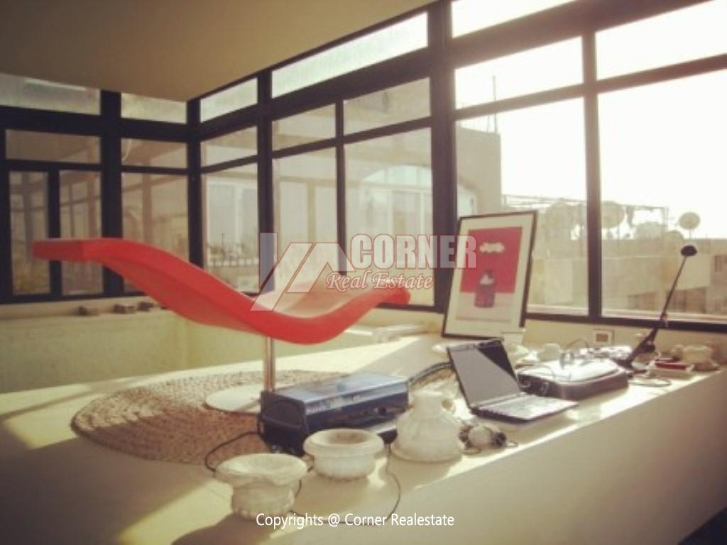 Penthouse For Rent In Maadi ,Modern Furnished,Penthouse NO #3