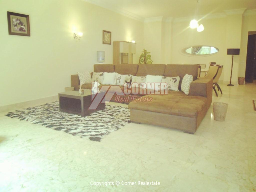Ground Floor With Pool For Rent In Maadi,Modern Furnished,Ground Floor NO #19