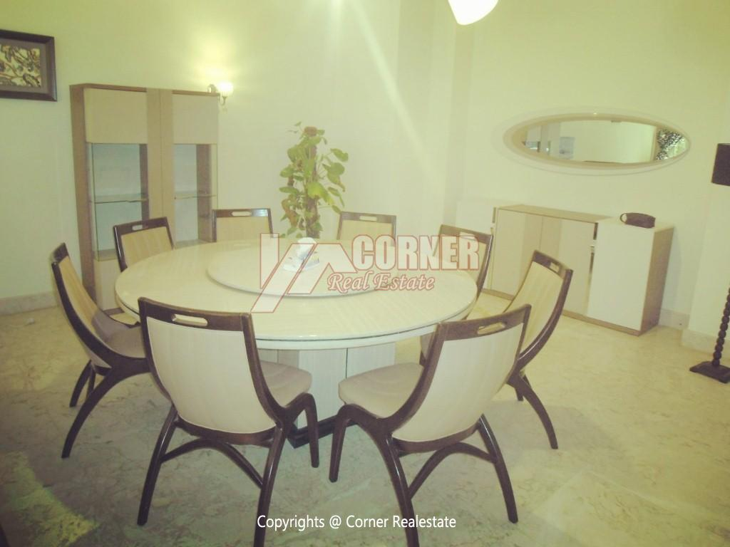 Ground Floor With Pool For Rent In Maadi,Modern Furnished,Ground Floor NO #21