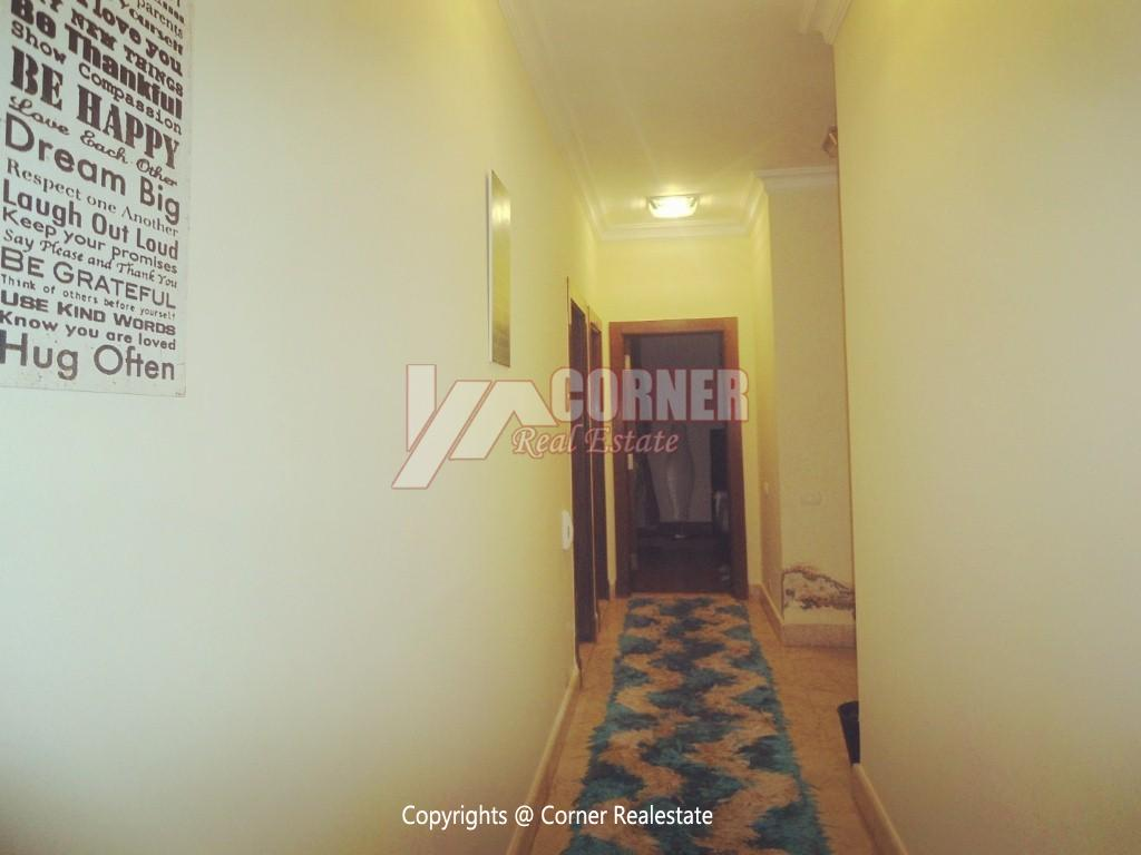 Ground Floor With Pool For Rent In Maadi,Modern Furnished,Ground Floor NO #5