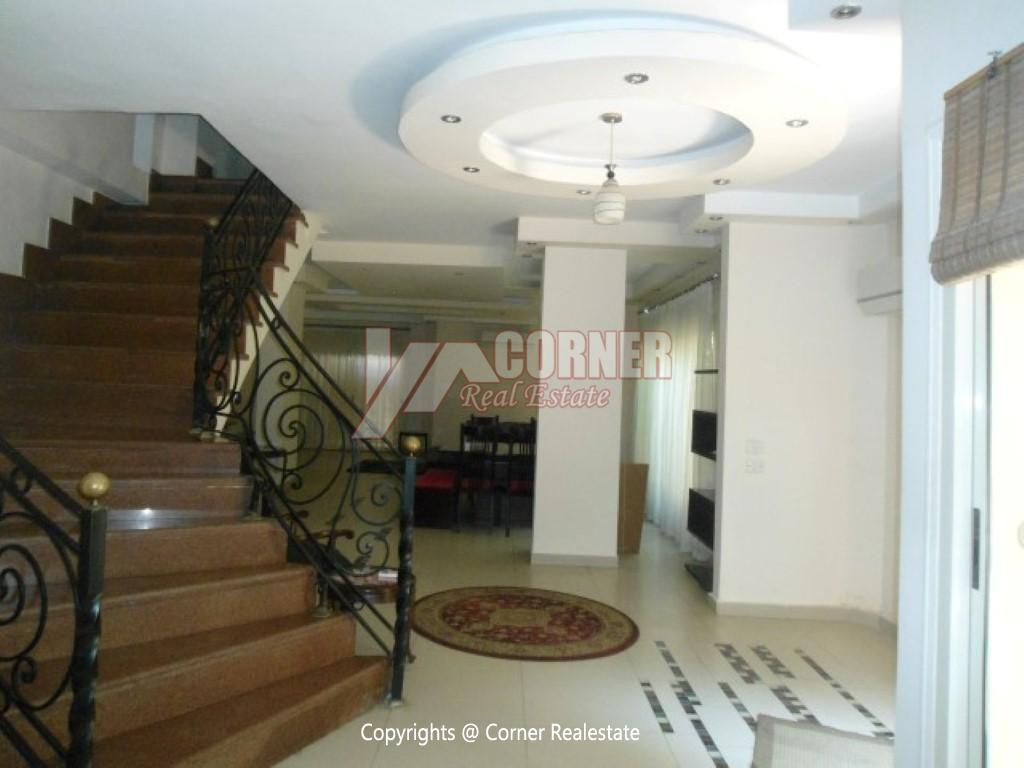 Ground Floor With Private Garden For Rent in Maadi,Modern Furnished,Ground Floor NO #11