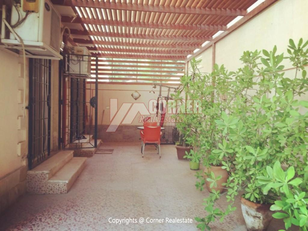 Ground Floor For Rent in Maadi Degla,Modern Furnished,Ground Floor NO #13