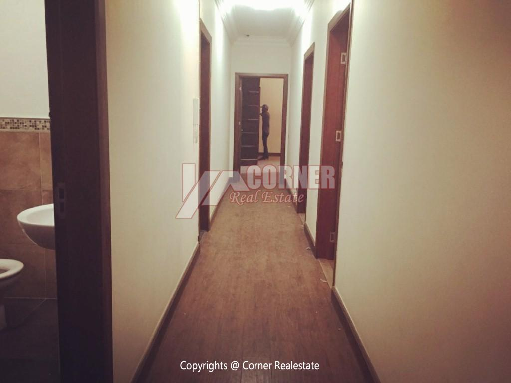 Ground Floor With Private Garden For Rent in Maadi,Semi furnished,Ground Floor NO #22