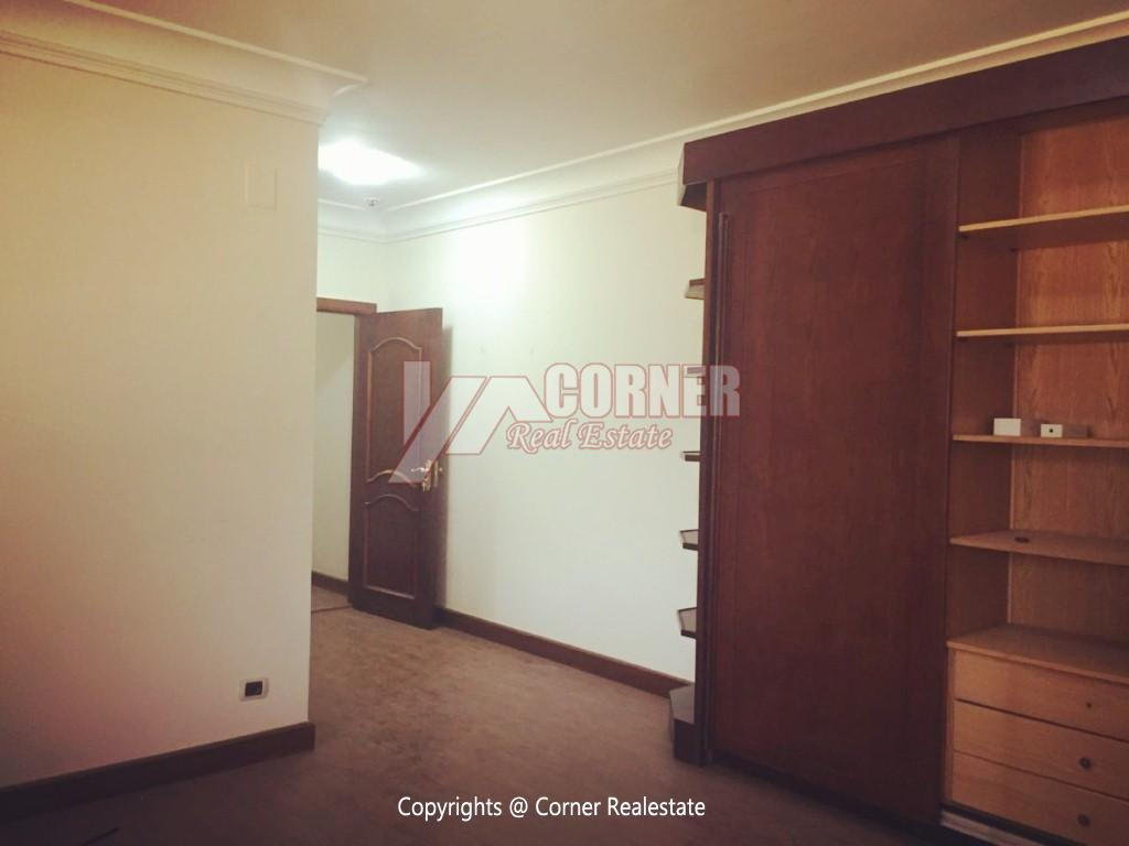 Ground Floor With Private Garden For Rent in Maadi,Semi furnished,Ground Floor NO #24