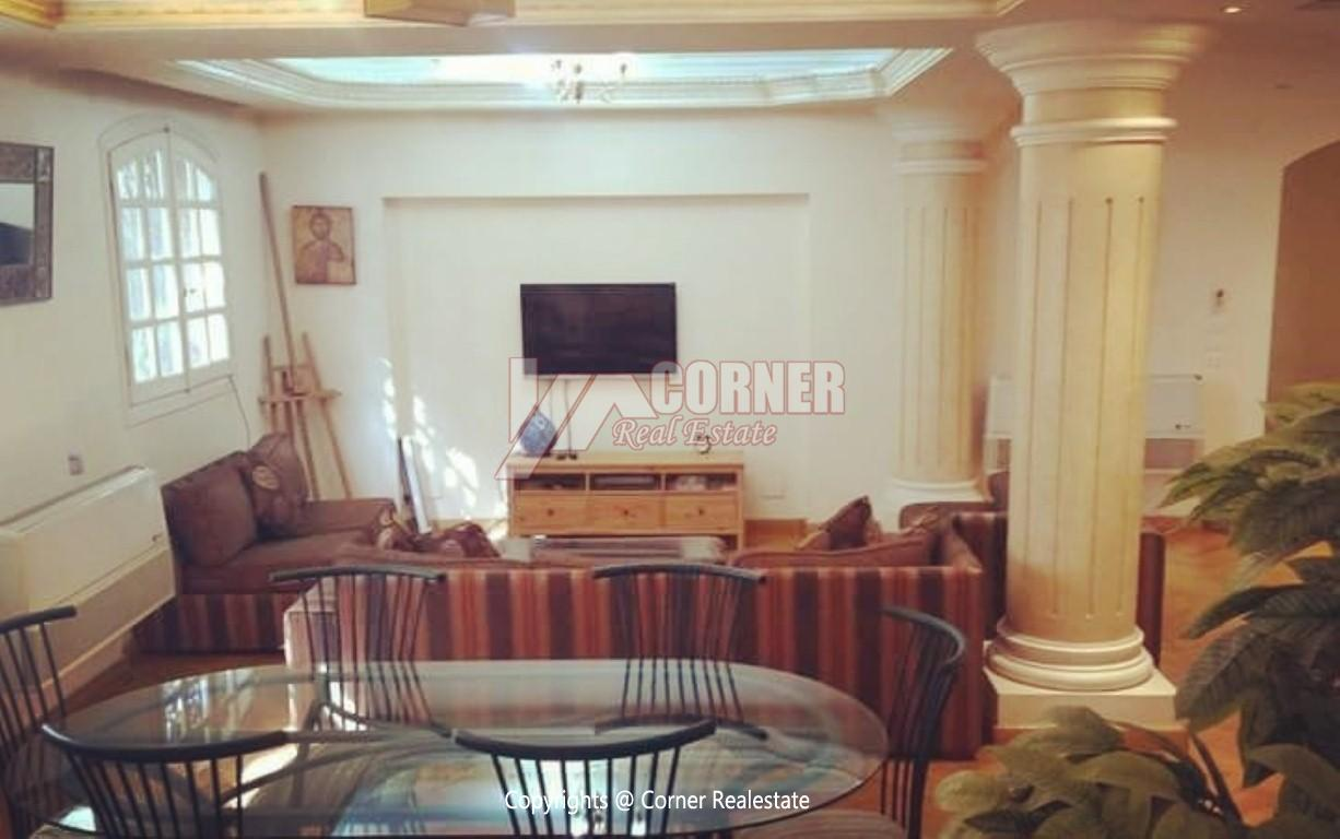 Ground Floor With Pool For Rent In Maadi,Modern Furnished,Ground Floor NO #13