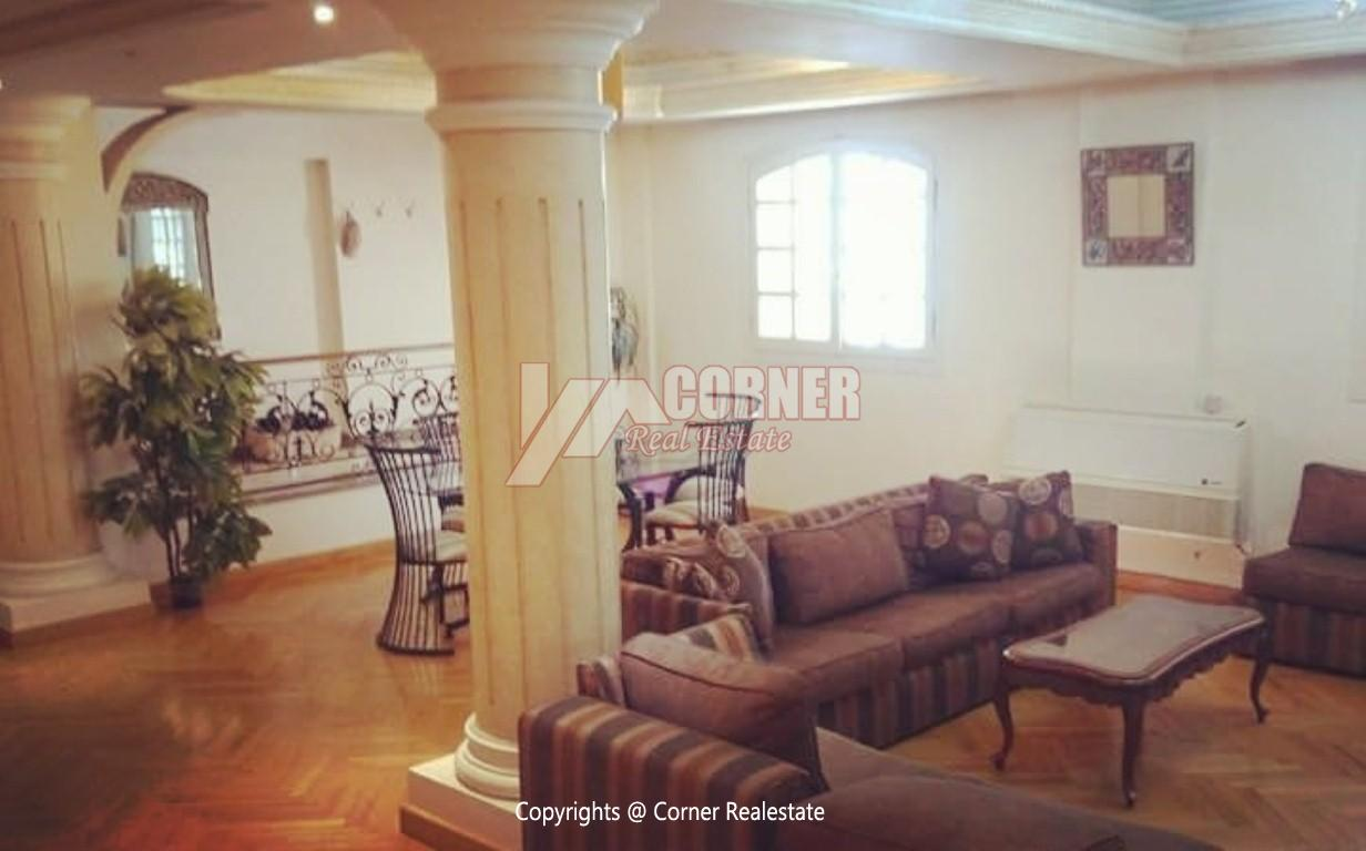 Ground Floor With Pool For Rent In Maadi,Modern Furnished,Ground Floor NO #4