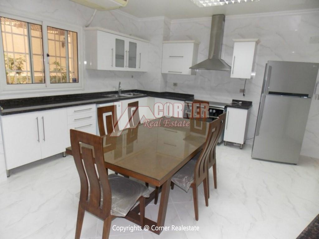 Ground Floor With Private Garden For Rent in Maadi,Modern Furnished,Ground Floor NO #14
