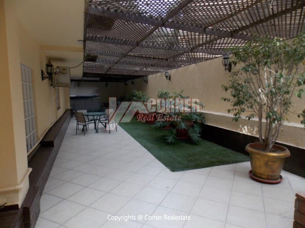 Ground Floor With Private Garden For Rent in Maadi,Modern Furnished,Ground Floor NO #19