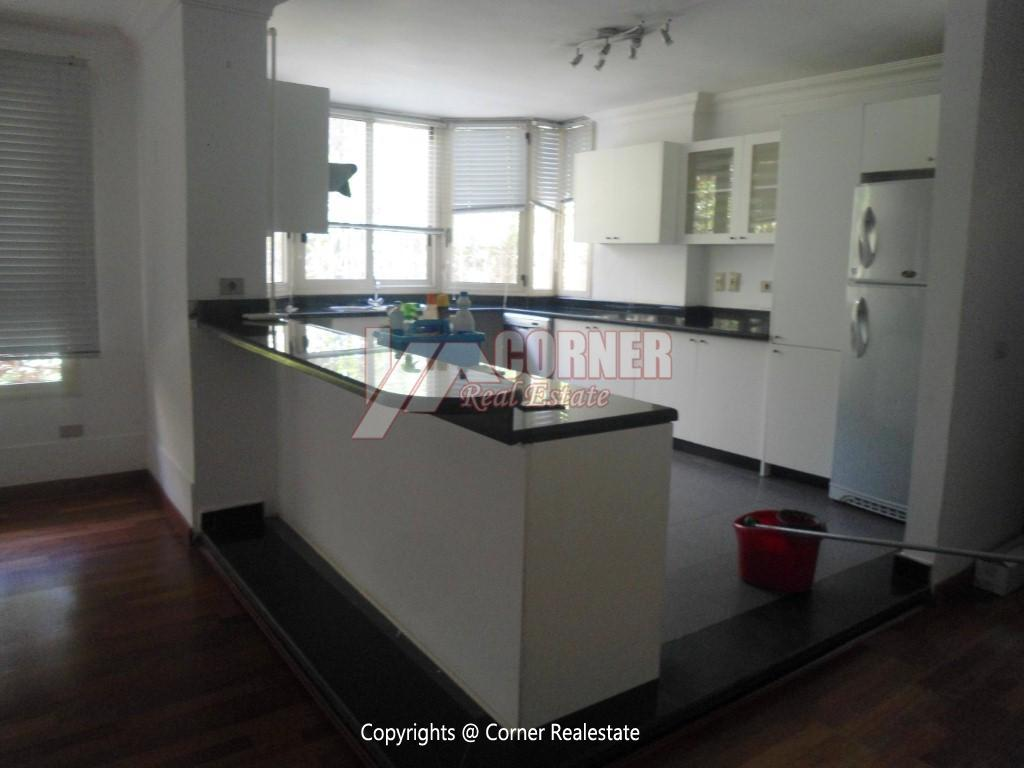 Ground Floor With Pool For Rent In Maadi,Modern Furnished,Ground Floor NO #17