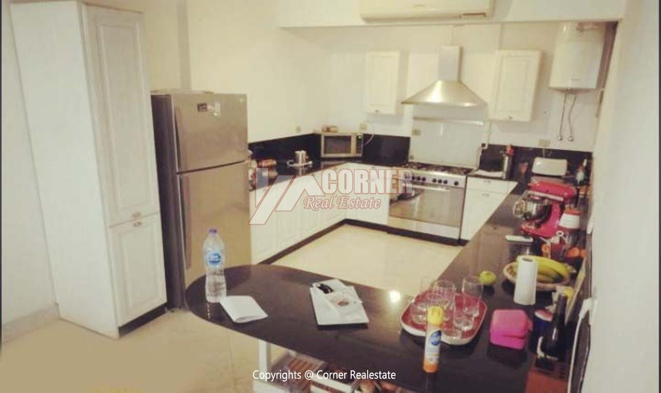 Ground Floor With Pool For Rent In Maadi,Modern Furnished,Ground Floor NO #24