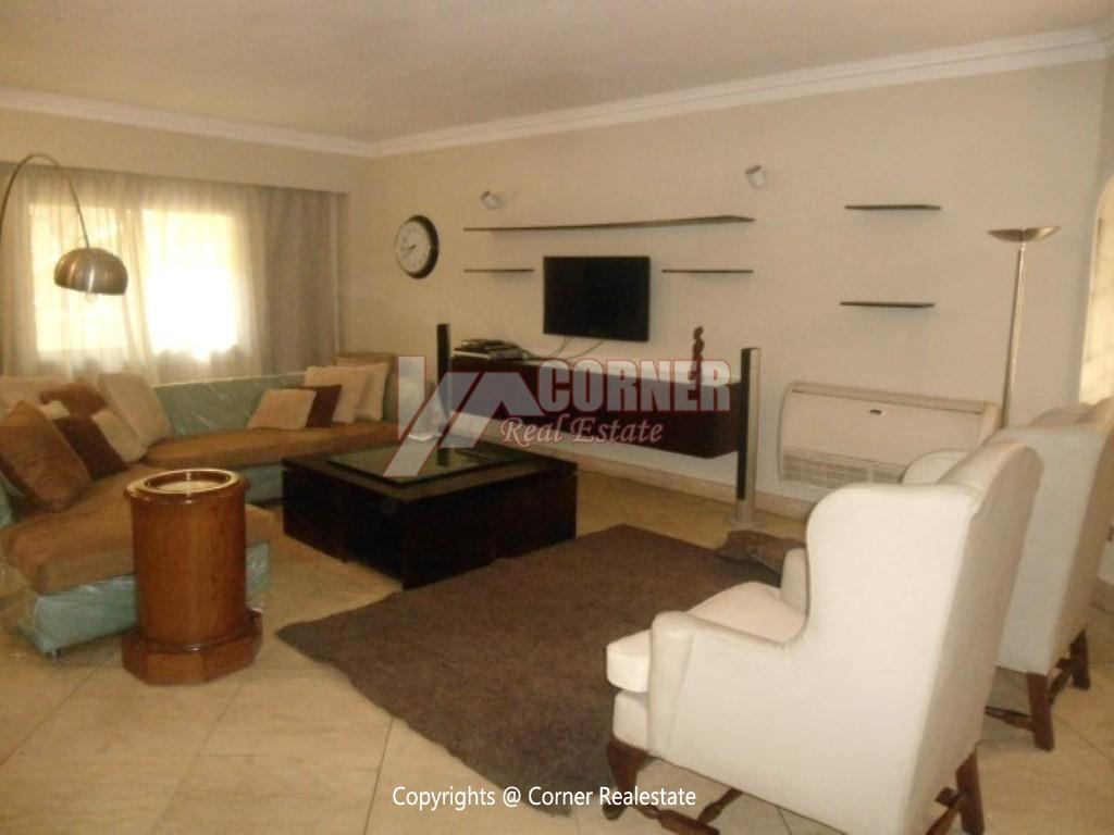 Ground Floor With Private Garden For Rent in Maadi,Modern Furnished,Ground Floor NO #20