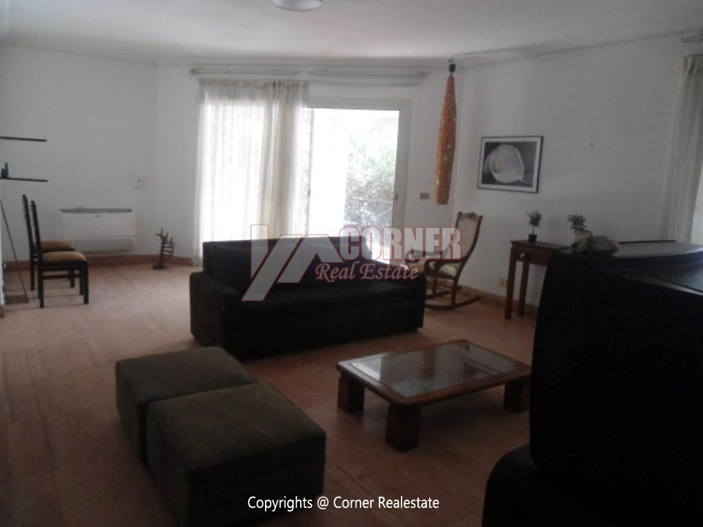 Ground Floor With Private Garden For Rent in Maadi,Modern Furnished,Ground Floor NO #8