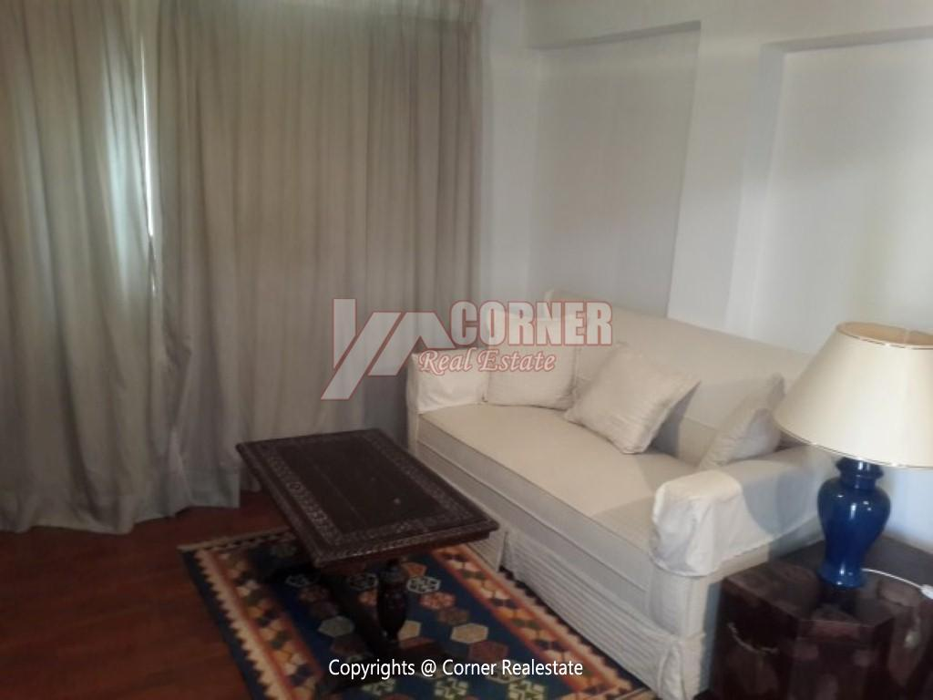 Ground Floor With Private Garden For Rent in Maadi,Modern Furnished,Ground Floor NO #6