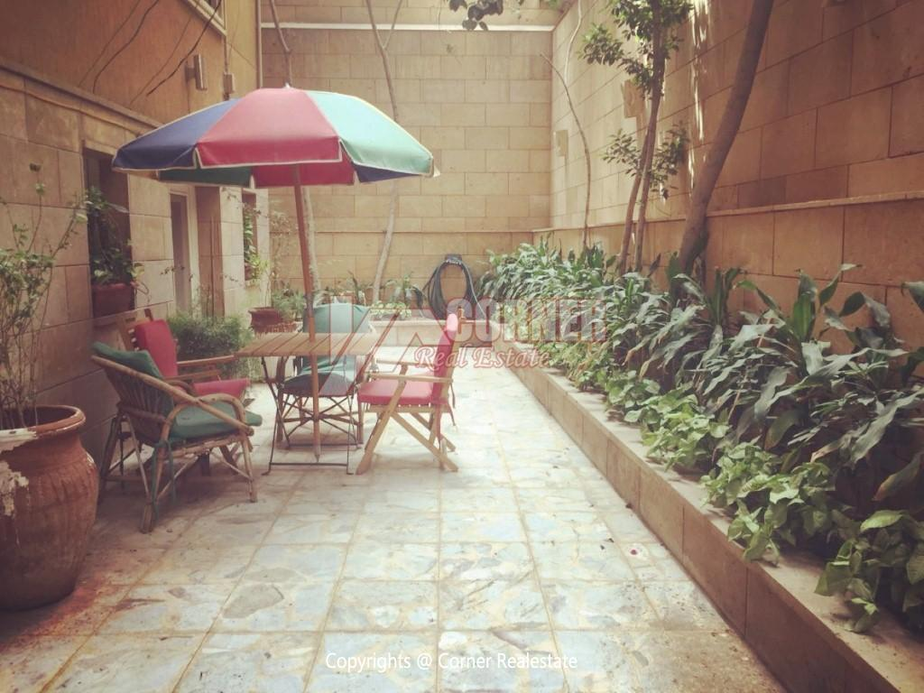 Ground Floor Duplex For Rent in Maadi,Semi furnished,Ground Floor NO #1