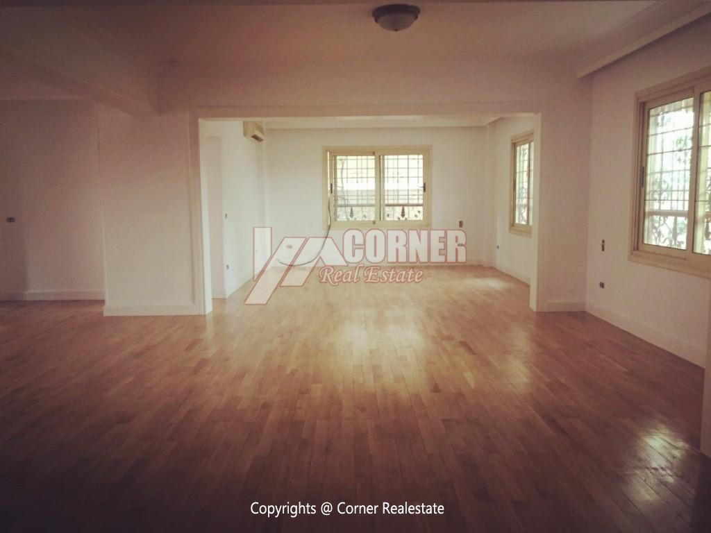 Ground Floor Duplex For Rent in Maadi,Semi furnished,Ground Floor NO #16