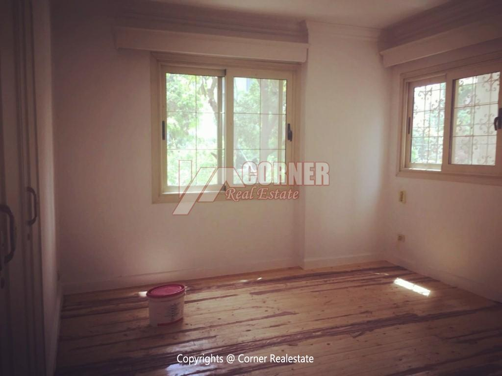 Ground Floor Duplex For Rent in Maadi,Semi furnished,Ground Floor NO #17