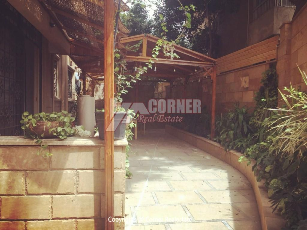 Ground Floor Duplex For Rent in Maadi,Semi furnished,Ground Floor NO #20